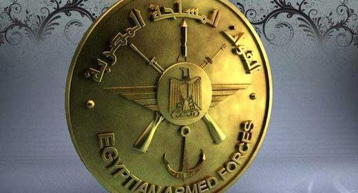 القوات المسلحة تدمر 15وكر والقضاء علي 46فردا والقبض علي100في الحرب على الإرهاب