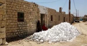 """بالصور .. إحلال وتجديد (٤٠) منزلا هدية الأورمان لمركز """" ناصر """" ببني سويف"""