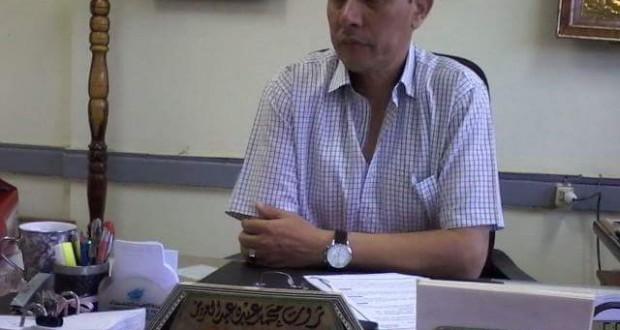 """انفراد … """" ثروت عبدالعزيز """" مديرا لمديرية التربية والتعليم ببني سويف"""
