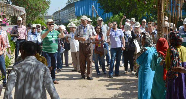 بالصور .. جولة لأعضاء مؤتمر أكاديمية التنمية الريفية بالبيت النوبى والمركز الحضرى بالأقصر