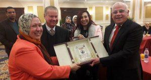 """""""الترابط"""" شعار القومي للمرأة ببورسعيد في يوم الوفاء"""