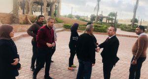"""قرى الجهاز التنفيذي ببورسعيد تستعد لاستقبال """"شم النسيم"""""""