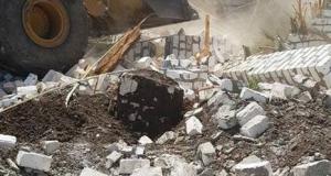 إزالة 11 حالة تعدي علي الاراضي الزراعية واملاك الدولة في حملة مكبرة بمركز دار السلام بسوهاج