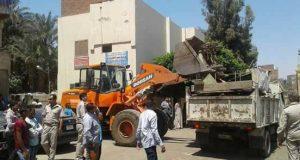 إزالة 542 حالة إشغال بشوارع مدينة ببا