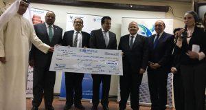 أبو الريش الياباني تحتفل بجهاز منظار القلب والصدر بحضور وزير التعليم العالي ورئيس جامعة القاهرة