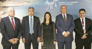 وزيرة السياحة تفتتح الجناح المصرى في الملتقى العربى للسياحة والسفرATM