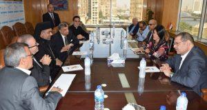 الدكتورة رانيا المشاط تلتقى بالوفد الكاثوليكي الايطالي الذي يزور مصر