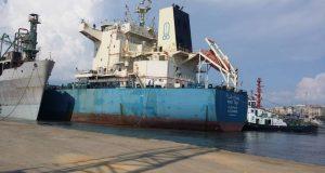 الفريق مميش: محطة غلال بميناء غرب بورسعيد لزيادة المخزون الإحتياطى من القمح المستورد