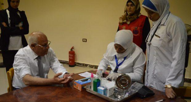 بورسعيد تبدأ رحلة القضاء على فيروس سي