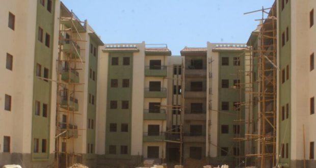 الانتهاء من تنفيذ3138وحدة سكنيةبمشروع الإسكان الاجتماعى بأسوان الجديدة