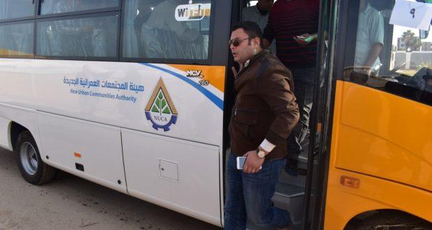 """رئيس الجهاز: 20 أتوبيسا مكيفا بخدمة """"الواى فاى""""للعمل بمنظومة النقل الداخلى بمدينة الشروق"""