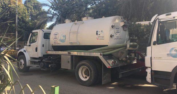 شركة مياه أسيوط تنظم قافلة مائية 3 أيام بمركز ساحل سليم بأسيوط