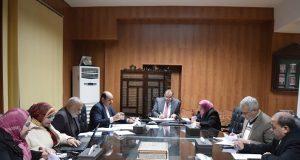 جامعة بني سويف تستقبل وفد رفيع المستوى من سلطنة عمان