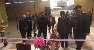 افتتاح المبنى الإدارى لمجمع الأحوال المدنية بالمنيا الجديدة