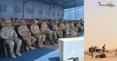 """ختام فاعليات التدريب  المصرى البريطانى المشترك  """" أحمس –1 """"  القوات المصرية والبريطانية تنفذان عملية مشتركة للقضاء على بؤرة إرهابية داخل منطقة سكنية"""