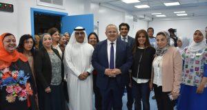 """رئيس جامعة القاهرة يفتتح وحدة حديثي الولادة بمستشفي أبو الريش """"المنيرة"""" للأطفال بتكلفة 5 مليون جنيه"""