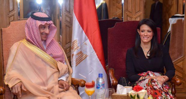 الدكتورة رانيا المشاط تلتقى رئيس الهيئة العامة للسياحة والتراث الوطني بالمملكة العربية السعودية