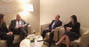 وزراء السياحة والاستثمار والتجارة والصناعة يلتقوا رئيس البنك الأوروبى لإعادة الإعمار والتنمية