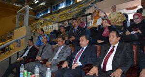 رئيس جامعة بني سويف يشهد ختام المهرجان الرياضي الثاني بمشاركة 25 كلية