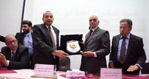 رئيس جامعة بنى سويف يشهد الإحتفالية الرابعة ليوم الطبيب