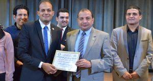محمد حسن رئيساً لبرلمان شباب الجامعة ببنى سويف  .