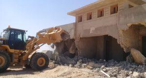 تنفيذ 50 قرار إزالة للتعديات على الأراضى بمدينة العلمين الجديدة
