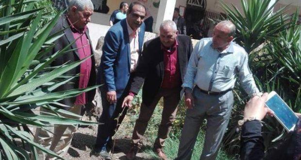 (ازرع شجرة ) مبادرة محافظ القليوبية بزرع شجر مثمر بجميع مدارس المحافظة
