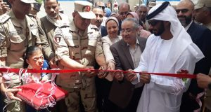 القوات المسلحة تواصل دعم مؤسسات المجتمع المدنى وتفتتح أعمال تطوير ٣ مدارس بالسويس