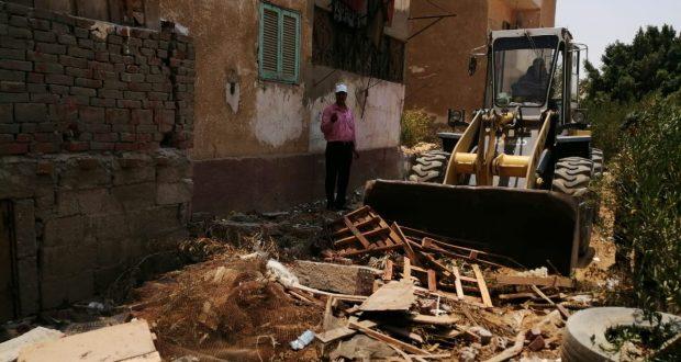 جهاز مدينة العاشر من رمضان يشُن حملات تفتيش لضبط الوحدات المخالفة وإزالة المخالفات بالإسكان الاجتماعي