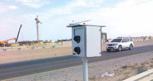 رادار المرور يضبط 1660 لسيارات تسير بسرعات جنونية بالطرق العامة