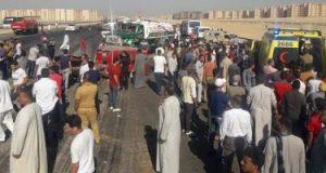 مصرع شخصين فى حادث تصادم على طريق بورسعيد الإسماعيلية