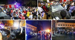 مشرحة زينهم تنتهى من تسليم 21 جثة من ضحايا حادث معهد الأورام لأسرهم