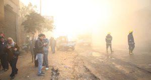 السيطرة على حريق داخل شقة سكنية فى الخليفة دون إصابات