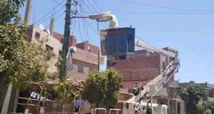 """""""بالصور"""" إستمرارية حملات الإزالة والإشغالات ومتابعة الأعمال بمدن ومراكز محافظة الفيوم"""