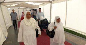 عودة 573 من حجاج الجمعيات من مطار المدينة المنورة اليوم