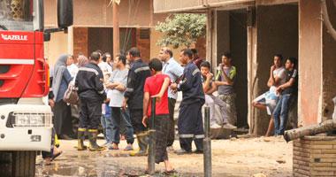 إصابة شخصين واحتراق 6 منازل وأحواش فى مشاجرة بسبب لهو الأطفال بسوهاج