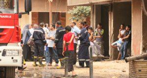 حريق بالمكتب الإدارى لشركة المطاحن بسوهاج دون خسائر بالأرواح