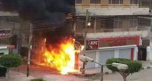 السيطرة على حريق داخل مطعم فى مدينة نصر دون إصابات